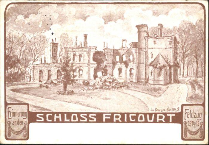 Fricourt Schloss x