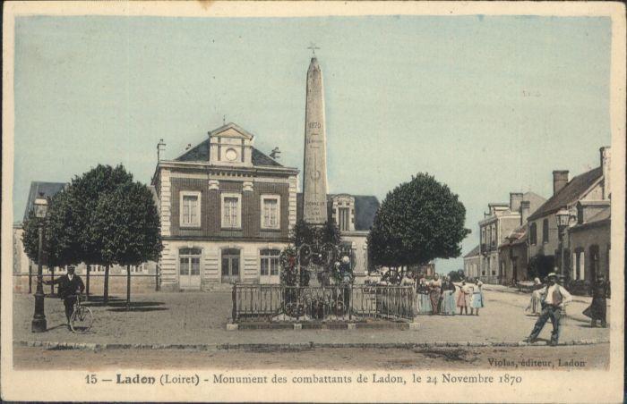 Ladon Monument combattans Ladon *