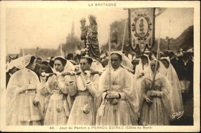 Perros-Guirec Jour Pardon Fronleichnamsprozession *