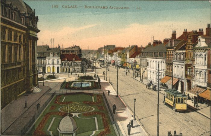 Calais Strassenbahn Boulevard Jacquard x