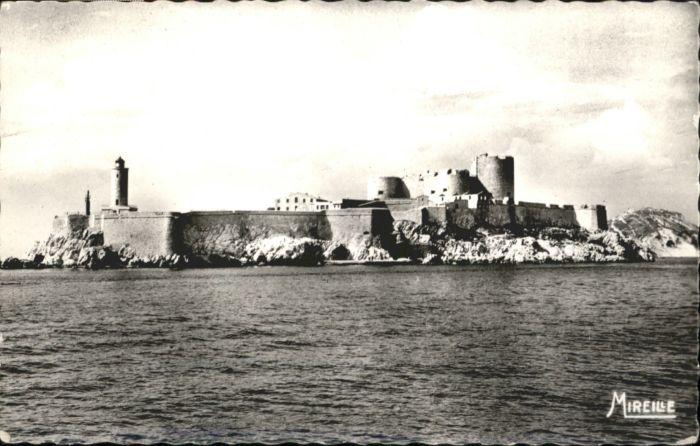 ws76255 Marseille Marseille Le Chateau d'If x Kategorie. Marseille Alte Ansichtskarten