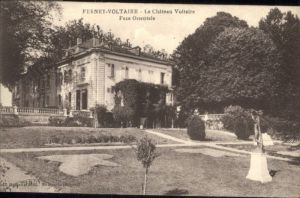 Ferney-Voltaire Chateau Voltaire Face Orientale *