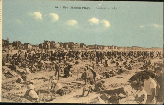 Fort-Mahon-Plage Concours de sable *