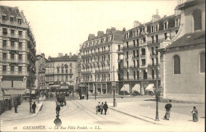 Grenoble Rue Felix Poulat *