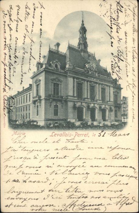 Levallois-Perret Mairie x
