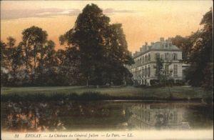 Epinay Chateau General Julien Parc *