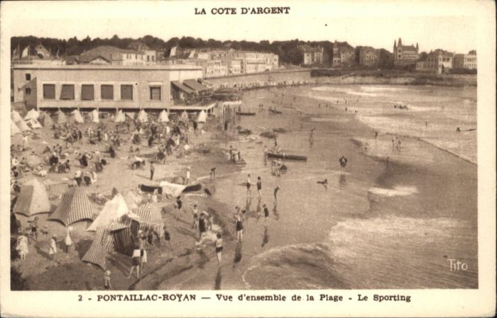 Pontaillac Royan le Sporting *