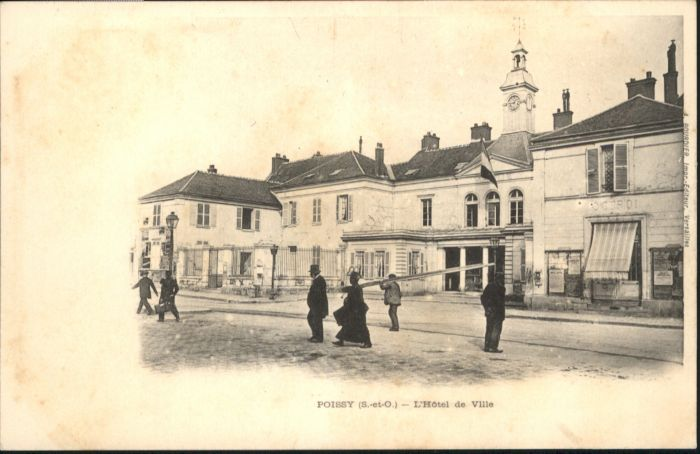 Poissy Hotel de Ville *