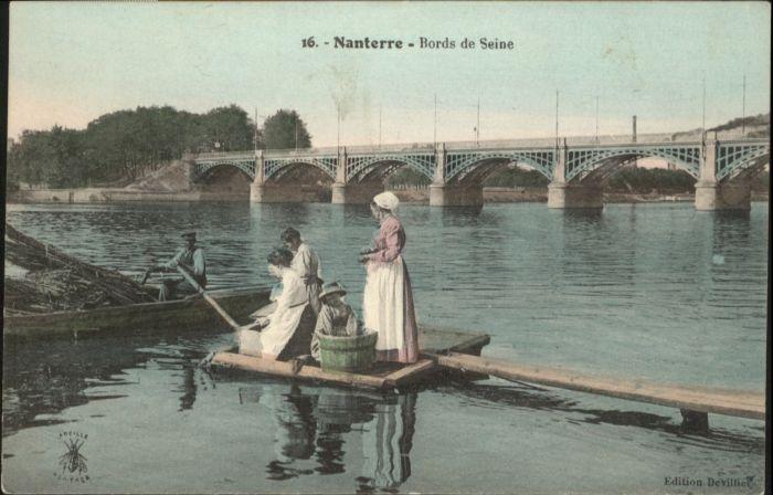 Nanterre Bords de Seine Pont *