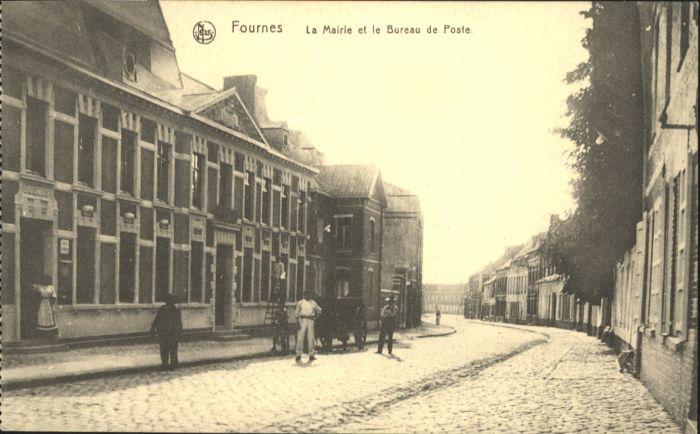 Fournes la Mairie le Bureau de Poste *