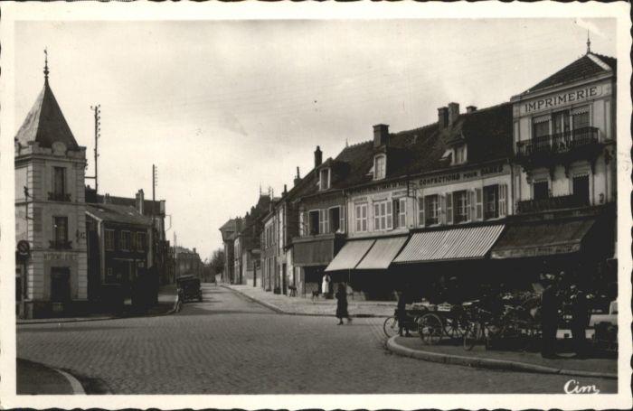 Romilly-sur-Seine Avenue du Chateau Place de l'Union x