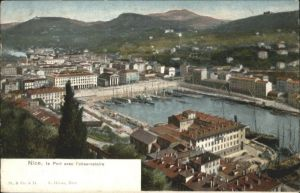 wu59520 Nice Alpes Maritimes Nice Port Observatoire * Kategorie. Nice Alte Ansichtskarten