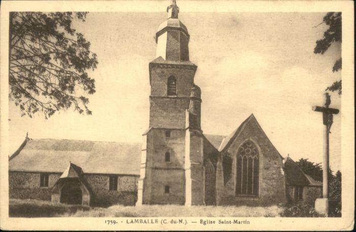 Lamballe Eglise Saint Martin *