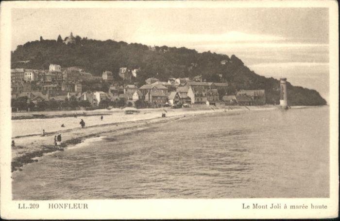Honfleur Mont Joli Maree Haute *