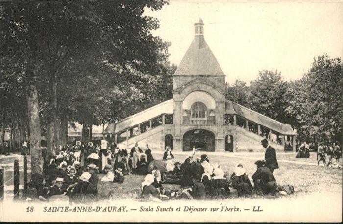 Sainte-Anne-d Auray Sainte-Anne-d'Auray Scala Sancta Dejeuner l'herbe *