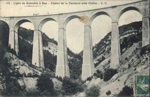 Grenoble Ligne Gap Viaduc Casseyre Clelles x