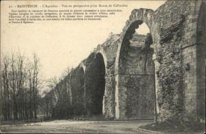 Maintenon Route Gallardon Aqueduc *