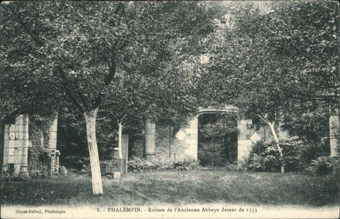 Phalempin Ruines Abbaye *