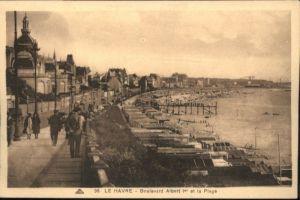 Le Havre Boulevard Albert I Plage *