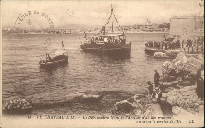 Ile d If Ile d'If Chateau d'If Dampfer *