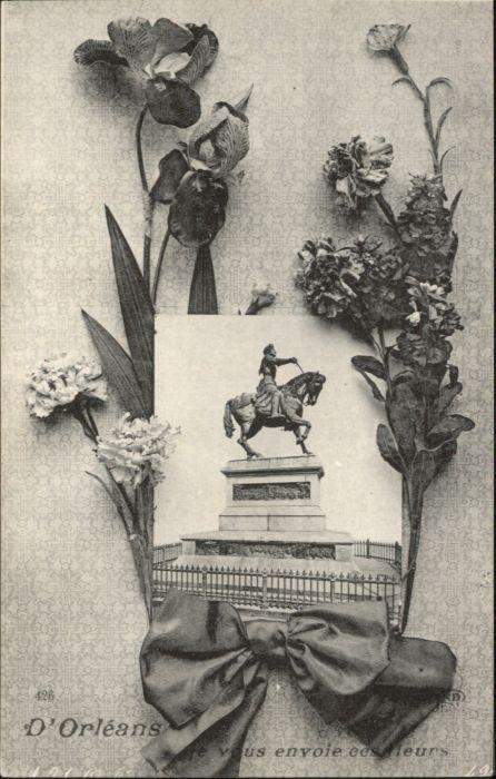 Orleans Loiret Orleans Denkmal * / Orleans /Arrond. d Orleans