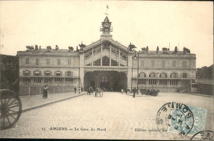 Amiens Gare Bahnhof Nord x