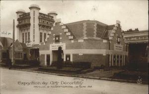 Roubaix Tourcoing Exposition Arts Decoratifs Pavillon x