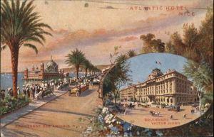 ww71432 Nice Alpes Maritimes Nice Atlantic Hotel Promenade Anglais Boulevard Victor Hugo x Kategorie. Nice Alte Ansichtskarten