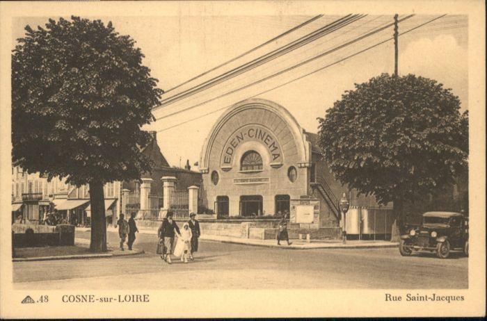 Cosne-Cours-sur-Loire Rue Saint-Jacques Eden Cinema *