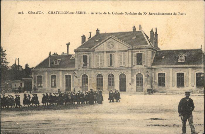 Chatillon-sur-Seine Colonie Scolaire  x