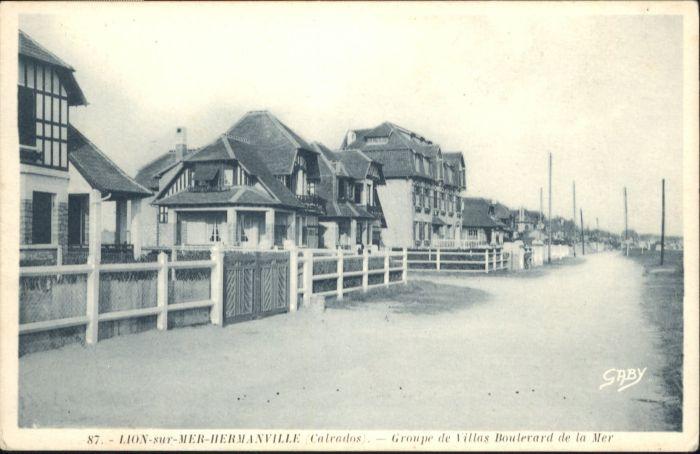 Lion-sur-Mer Hermanville Villa Boulevard Mer *