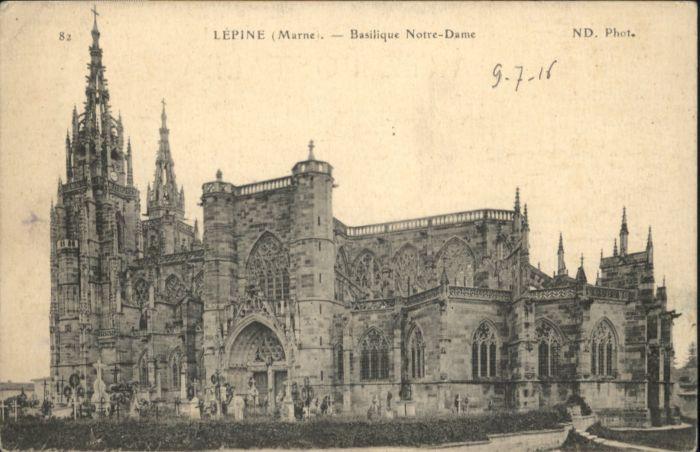 Lepine Marne Basilique Notre-Dame *
