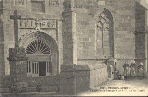 Perros-Guirec Chapelle Fontaine Clarte *