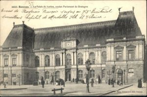 Rennes Palais Justice Parlement Bretagne x