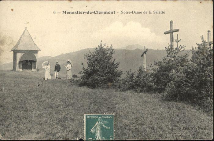 Monestier-de-Clermont Notre-Dame Salette  x