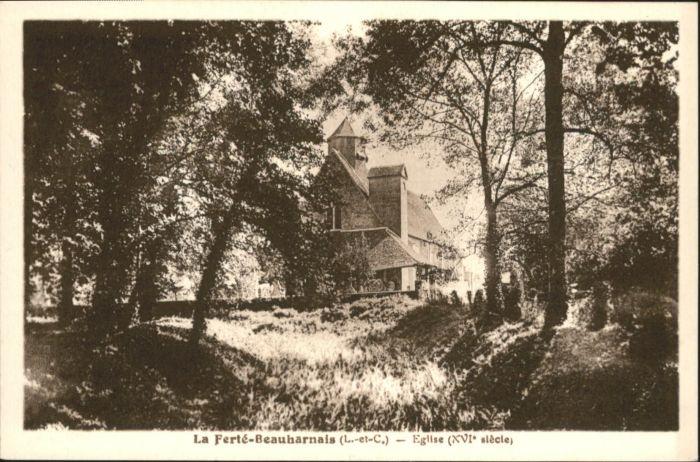 La Ferte-Beauharnais Eglise *