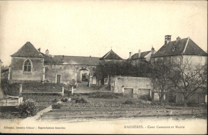 Maidieres Cour Casenove Mairie *