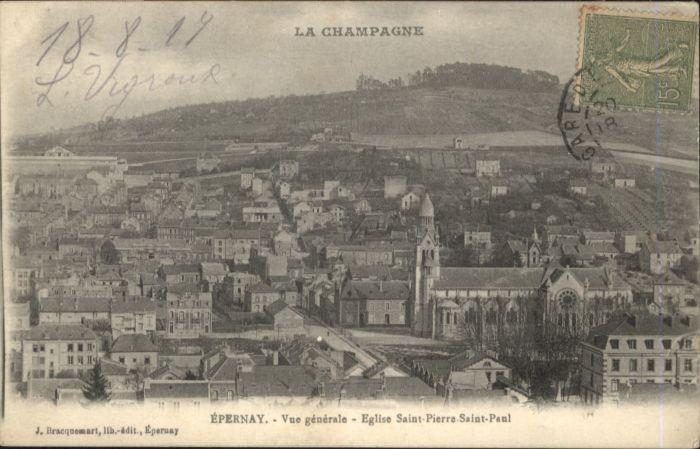 Epernay Eglise Saint-Pierre Saint-Paul x