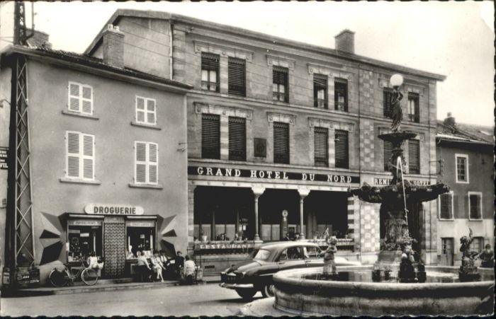 Saint-Jean-de-Bournay Grand Hotel du Nord Droguerie Drogerie x