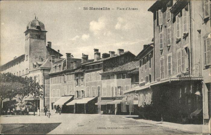 Saint-Marcellin Place Armes *