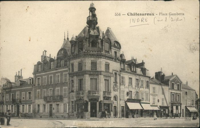 Chateauroux Indre Chateauroux Place Gambetta * / Chateauroux /Arrond. de Chateauroux