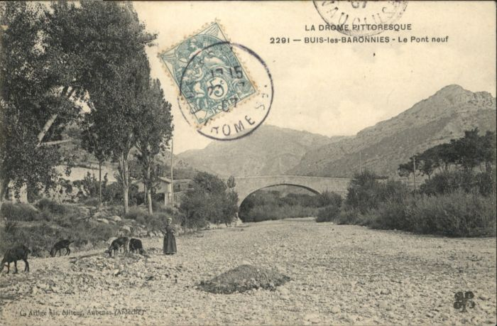 Buis-les-Baronnies Pont Neuf x