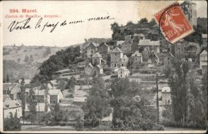 Muret-le-Chateau Aveyron Canton Marcillac Aveyron