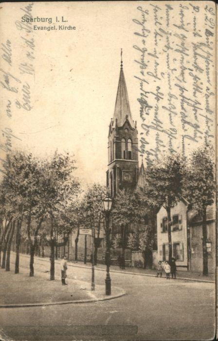 Saarburg Lothringen Lothringen Kirche x