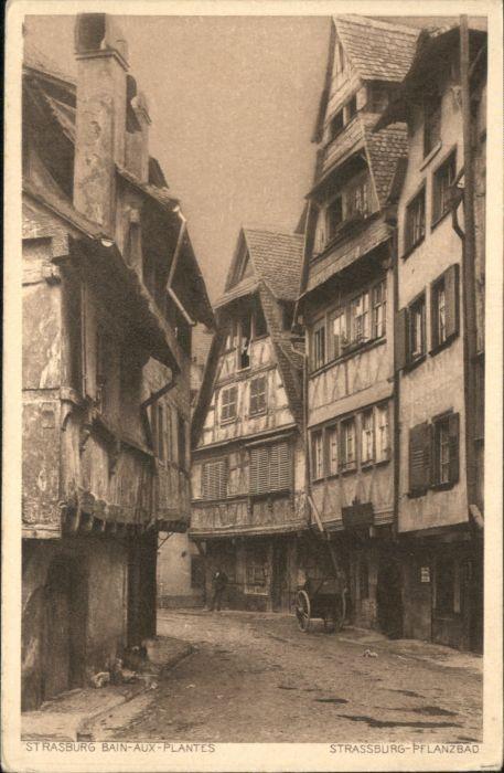Strasbourg Alsace Strassburg Elsass Strasburg Bain-aux-Plantes Pflanzbad *
