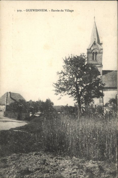Guewenheim Entree du Village *