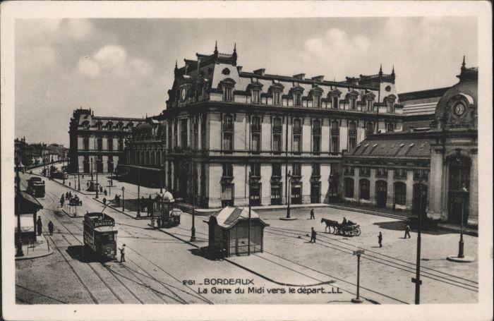 Bordeaux La Gare du Midi *