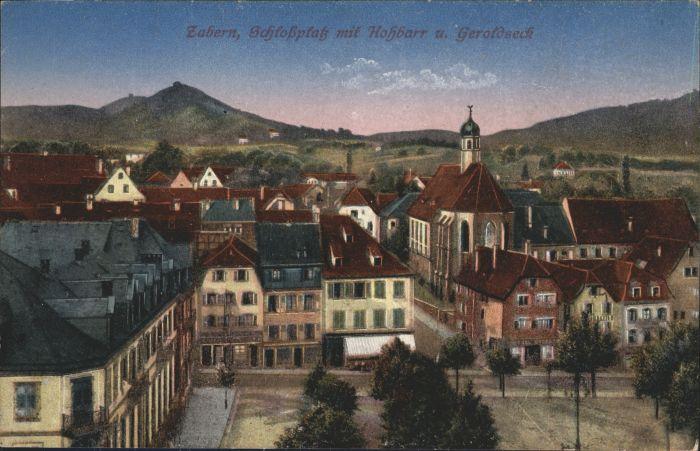 Zabern Saverne Zabern Schlossplatz * / Saverne /Arrond. de Saverne