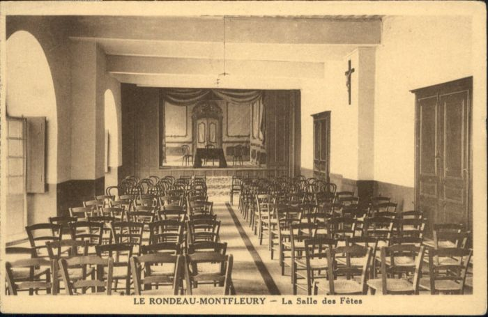 Echirolles [Handschriftlich] Rondeau Montfleury Salle Fetes *