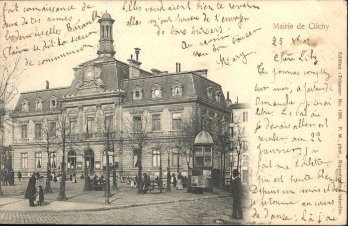 Clichy Mairie x